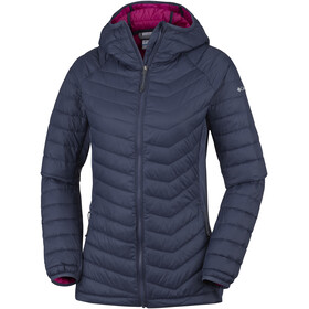 Columbia Powder Lite Light Hooded Jacket Women Nocturnal